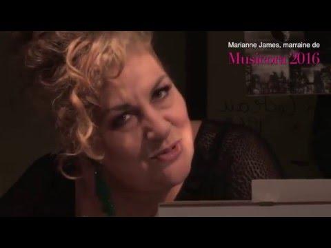 Entretien avec Marianne James, marraine du prochain salon Musicora 2016 (vidéo classiquenews.com)